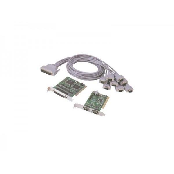 Serial card RS232, 32bit PCI, 8 x Com port (9pin) (на изплащане), (безплатна доставка)