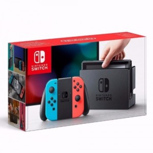 Nintendo Switch Neon Red & Neon Blue (на изплащане)