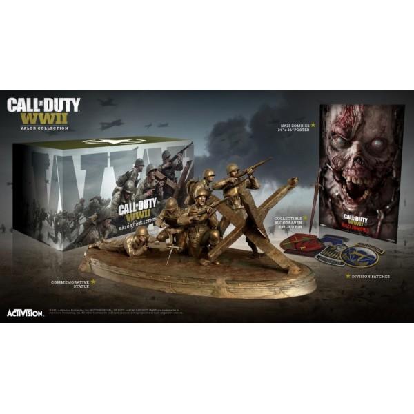 Игра Call of Duty: WWII Valor Collection with Game за PS4 (на изплащане), (безплатна доставка)