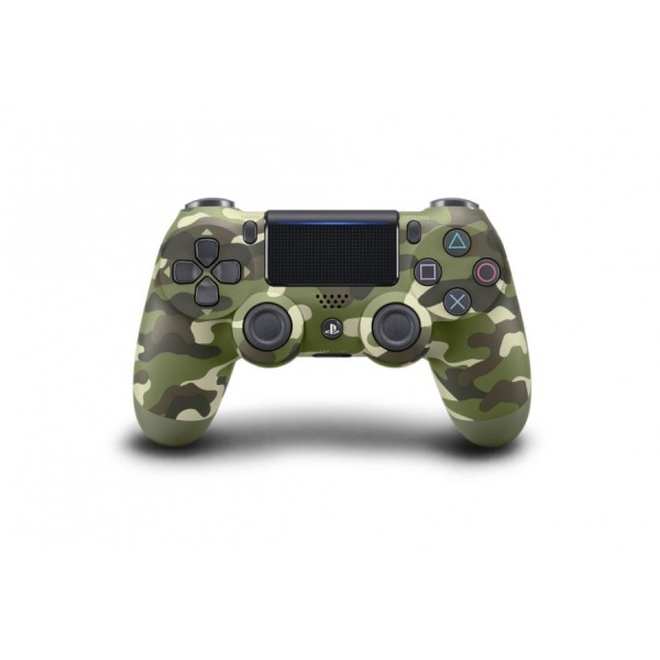 Sony Official PlayStation 4 (PS4) Dualshock 4 Wireless Controller Green Camouflage V2 (на изплащане), (безплатна доставка)