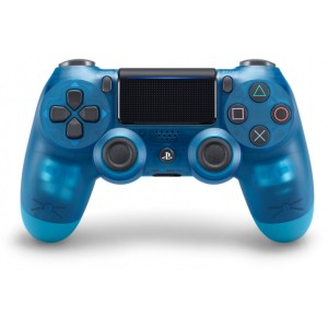 Sony Official PlayStation 4 (PS4) Dualshock 4 Wireless Controller Blue Crystal V2 (на изплащане), (безплатна доставка)