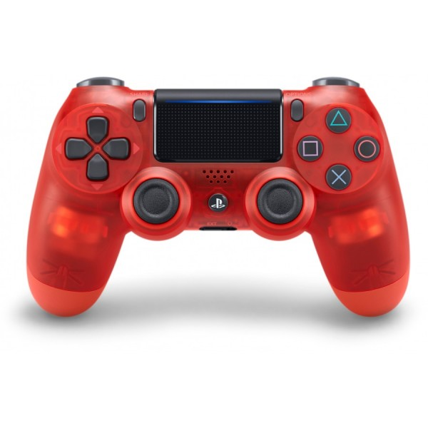Sony Official PlayStation 4 (PS4) Dualshock 4 Wireless Controller Red Crystal V2 (на изплащане), (безплатна доставка)
