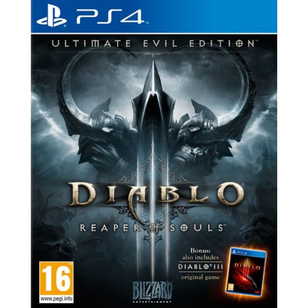 Игра Diablo III: Reaper Of Souls Ultimate Evil Edition за PS4 (на изплащане)