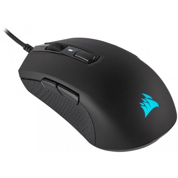 Corsair M55 RGB Pro Ambidextrous Gaming Mouse, Black [CH-9308011-EU] (на изплащане), (безплатна доставка)