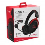 HyperX Cloud II Gaming Headset, Red/Black [KIN-HEAD-KHX-HSCP-RD] (на изплащане), (безплатна доставка)