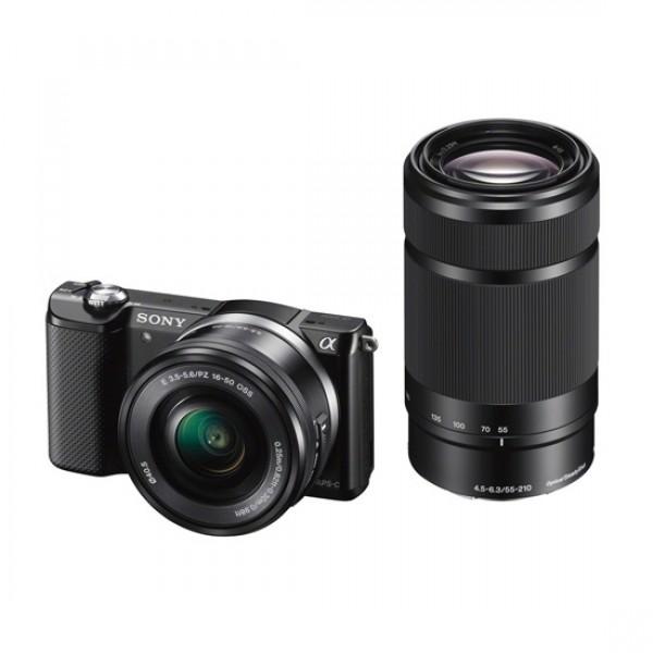 Sony Exmor APS HD ILCE-5000Y black [ILCE5000YB.CEC] (на изплащане)