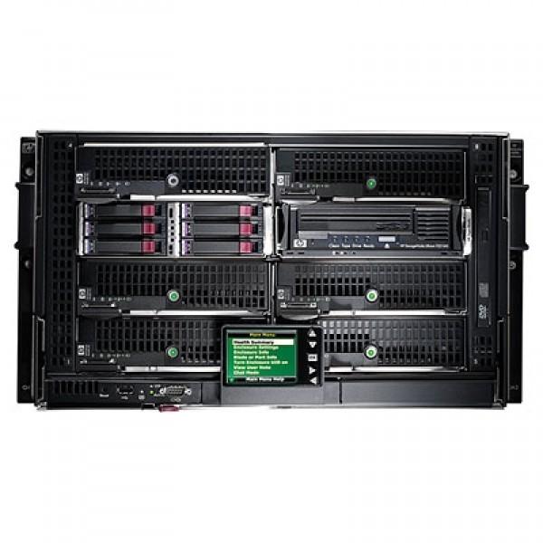 HP BLc3000 Platinum Enclosure with 4 AC Power Supplies 6 Fans ROHS 8 Insight Control Licenses [696908-B21] (на изплащане)