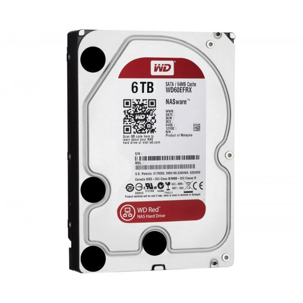 Western Digital RED 6TB 5400rpm SATA3 64MB cache 3 [WD60EFAX] (на изплащане)