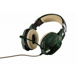 TRUST GXT 322C Gaming Headset - green camouflage [20865] (на изплащане)