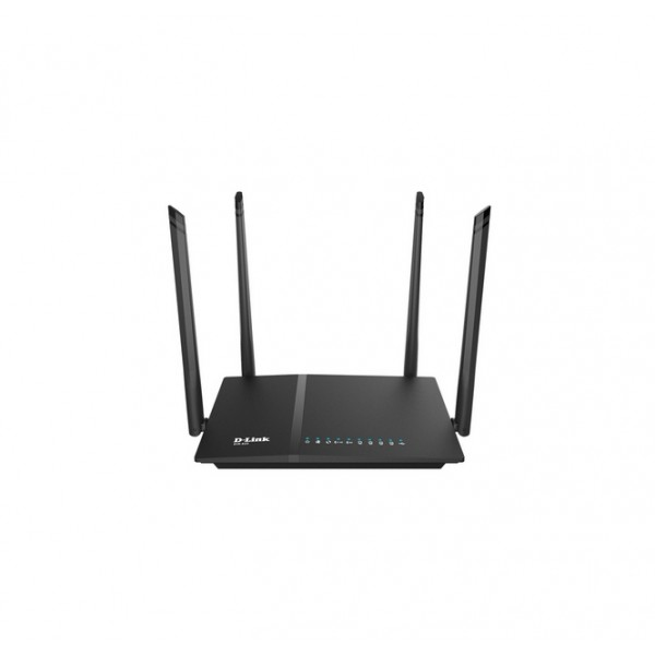 D-Link AC 1200 Wi-Fi Dual-Band Gigabit (LAN/WAN) Router [DIR-825] (на изплащане)