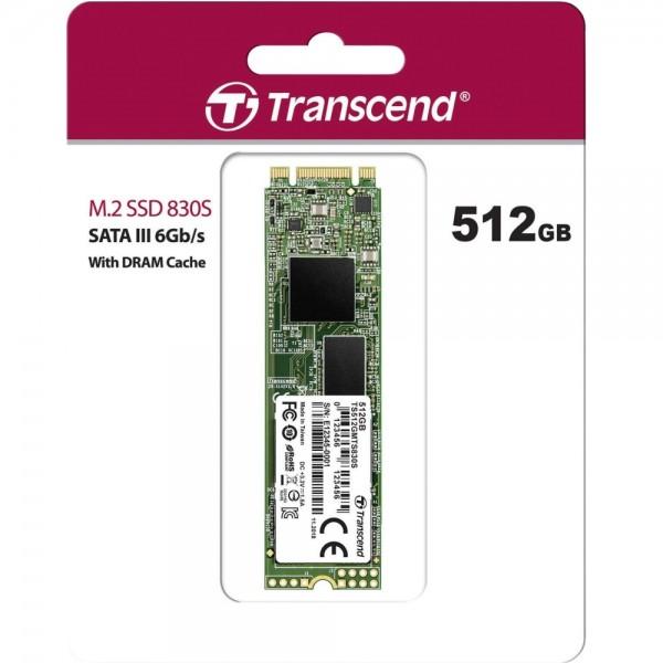 Transcend 512GB [TS512GMTS830S] (на изплащане)