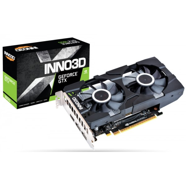 Inno3D GeForce GTX 1650 Twin X2 OC [N16502-04D5X-1510VA25] (на изплащане)