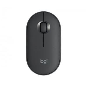 Logitech Pebble M350 Wireless Mouse - GRAPHITE [910-005718] (на изплащане)