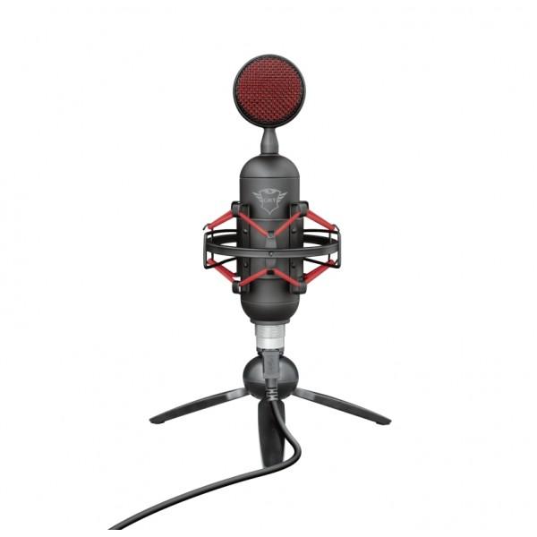 TRUST GXT 244 Buzz Streaming Microphone [23466] (на изплащане), (безплатна доставка)