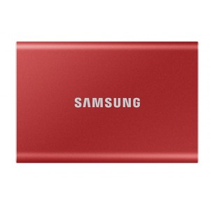 Samsung Portable SSD T7 500GB [MU-PC500R/WW] (на изплащане)