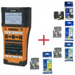 Brother PT-E550WVP Handheld Industrial Labelling system + 1x TZEFX231 [PTE550WSPYJ1] (на изплащане)